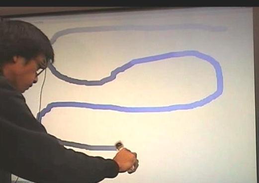 生体信号連動型お絵描きツール